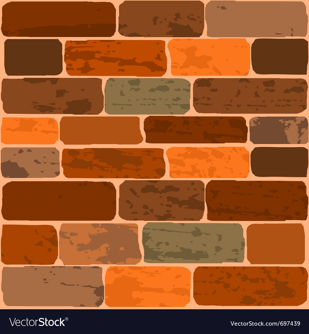Of a brick wall vector | Price: 1 Credit (USD $1)
