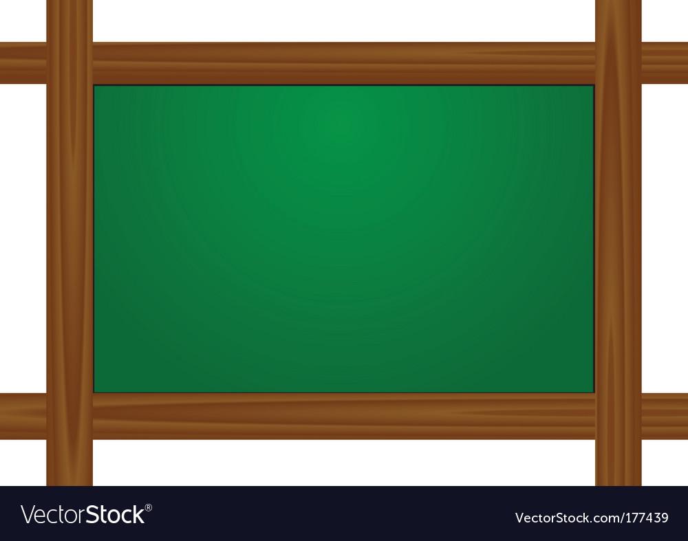 School wooden board vector | Price: 1 Credit (USD $1)