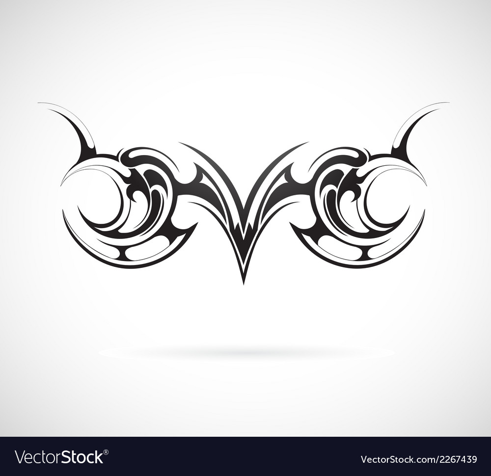 Tribal art tattoo vector | Price: 1 Credit (USD $1)
