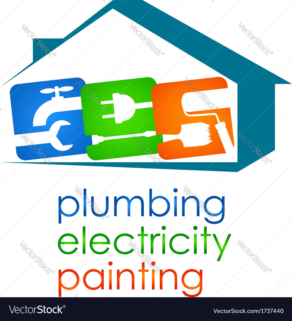 Home repairs vector | Price: 1 Credit (USD $1)
