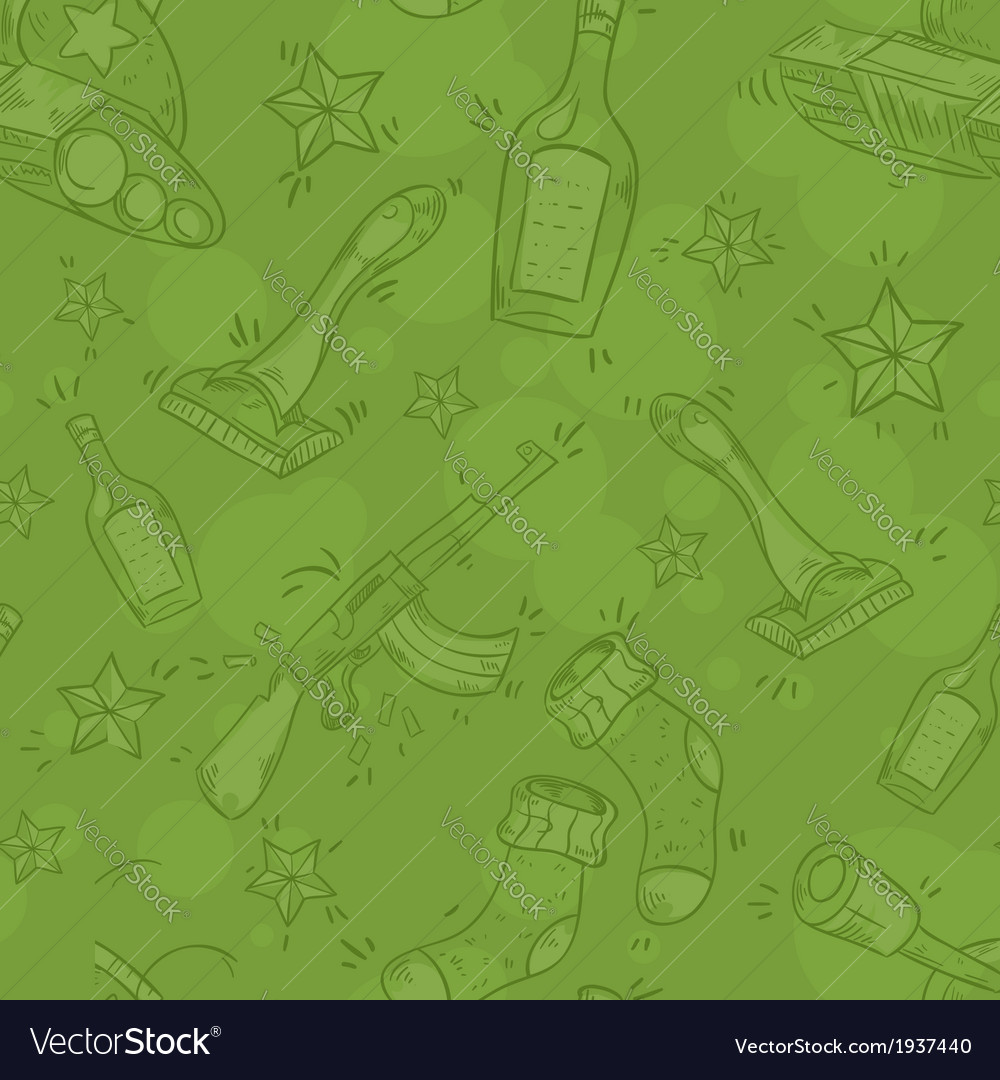 Military seamless pattern vector | Price: 1 Credit (USD $1)