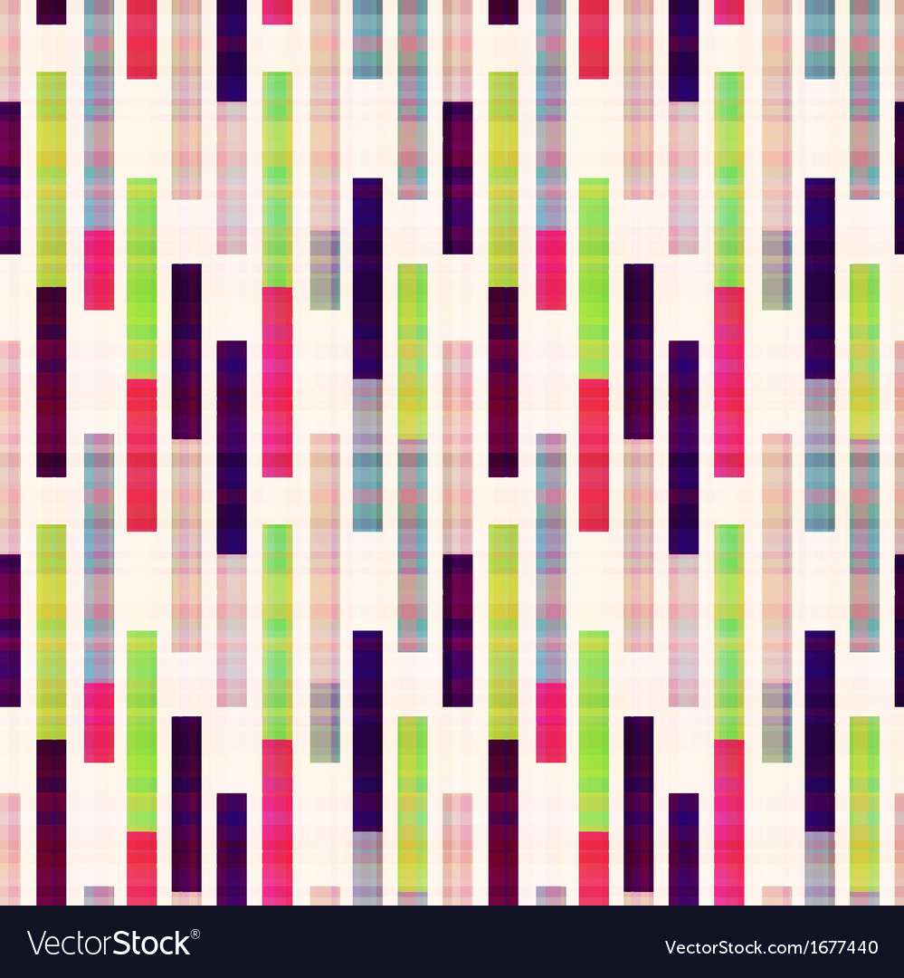 Seamless abstract geometric striped pattern vector | Price: 1 Credit (USD $1)
