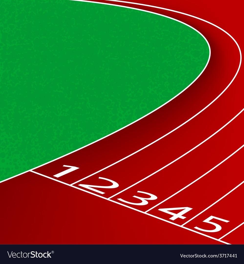 Racetrack scene vector   Price: 1 Credit (USD $1)