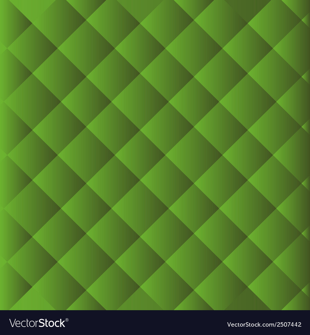 Abstract natural mosaic green background vector | Price: 1 Credit (USD $1)
