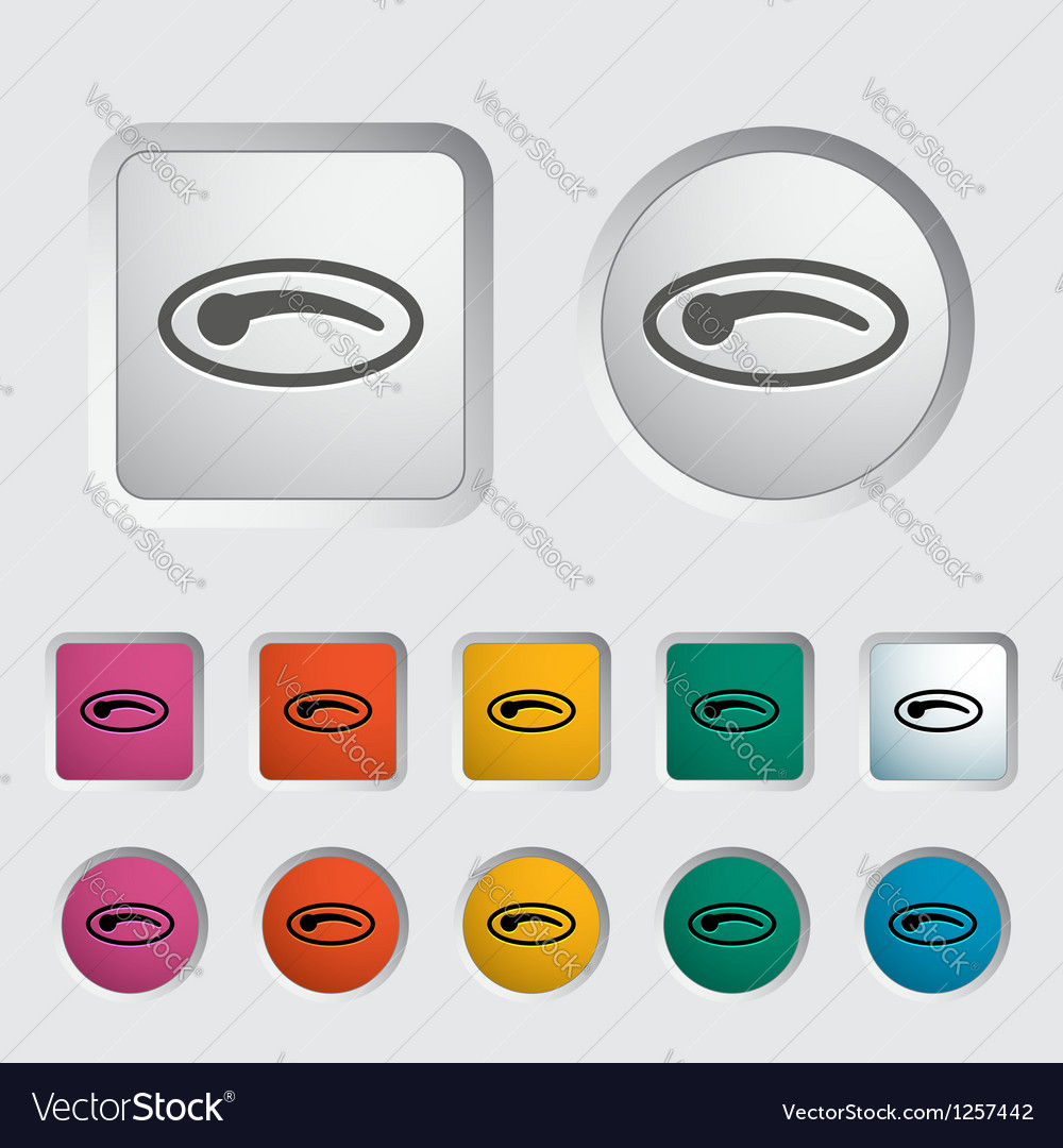 Car door handle vector | Price: 1 Credit (USD $1)