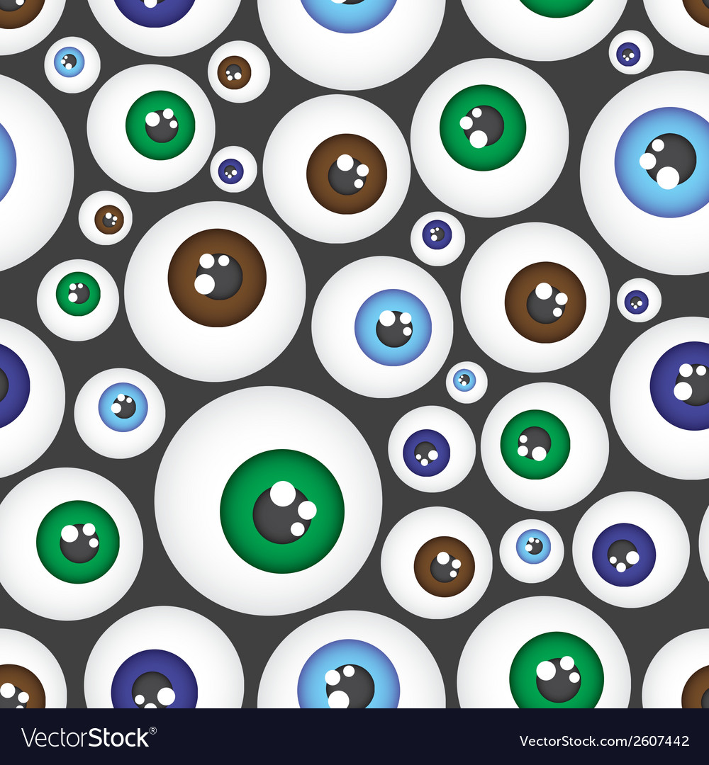 Simple color eyes pattern eps10 vector | Price: 1 Credit (USD $1)