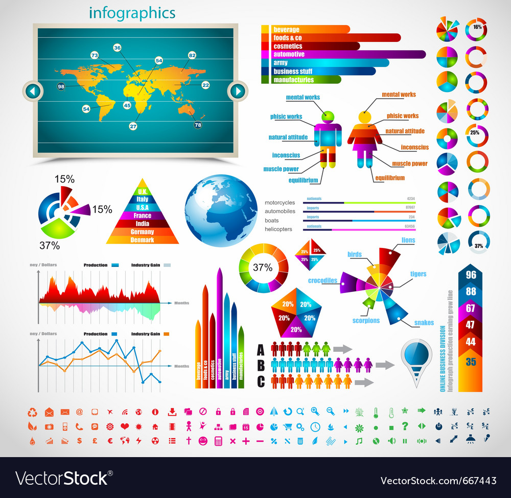 Premium infographics vector | Price: 3 Credit (USD $3)
