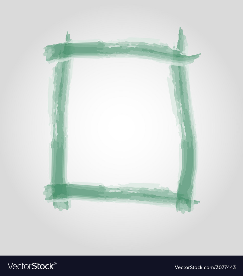 Watercolor frame vector | Price: 1 Credit (USD $1)