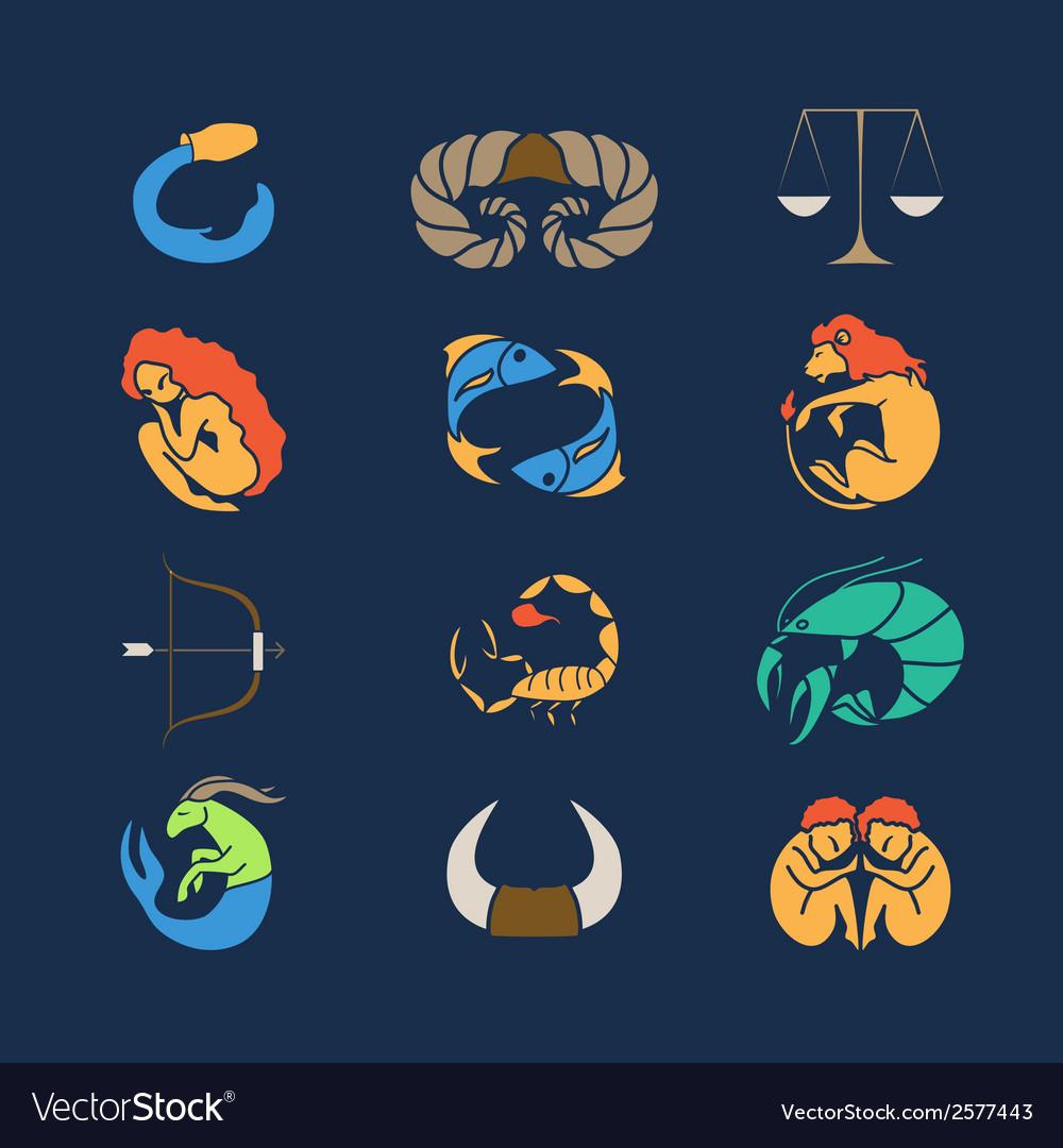 Zodiak set vector | Price: 1 Credit (USD $1)