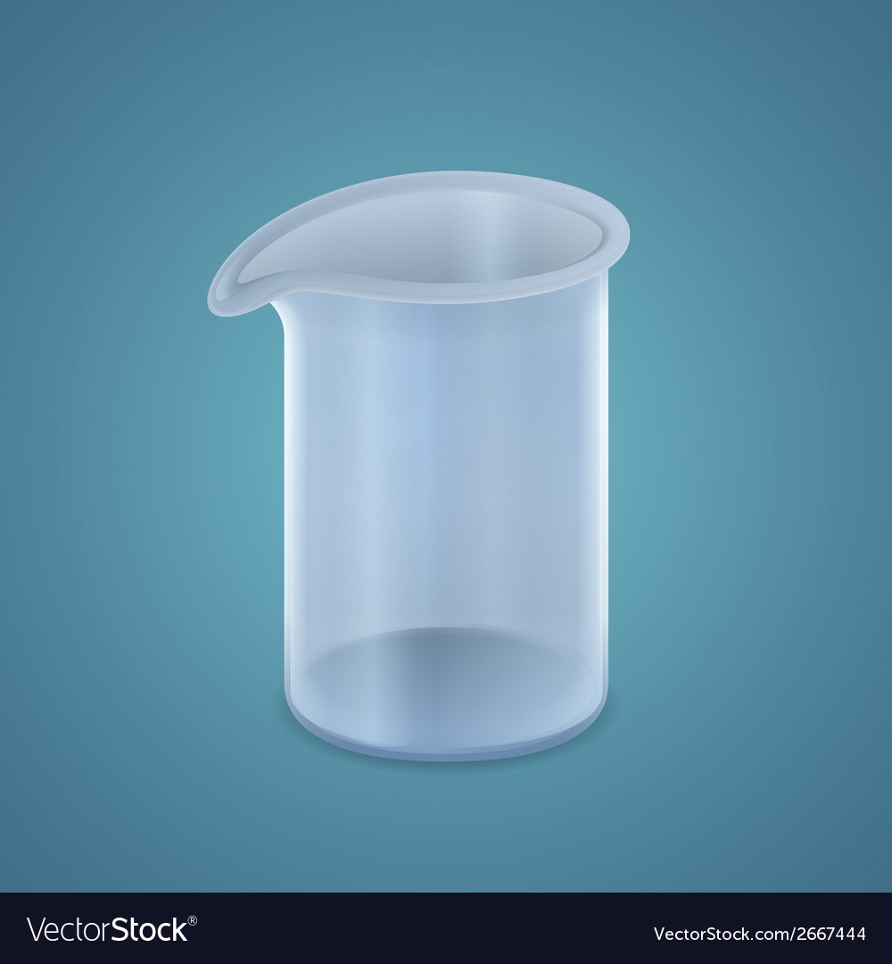 Beaker vector | Price: 1 Credit (USD $1)