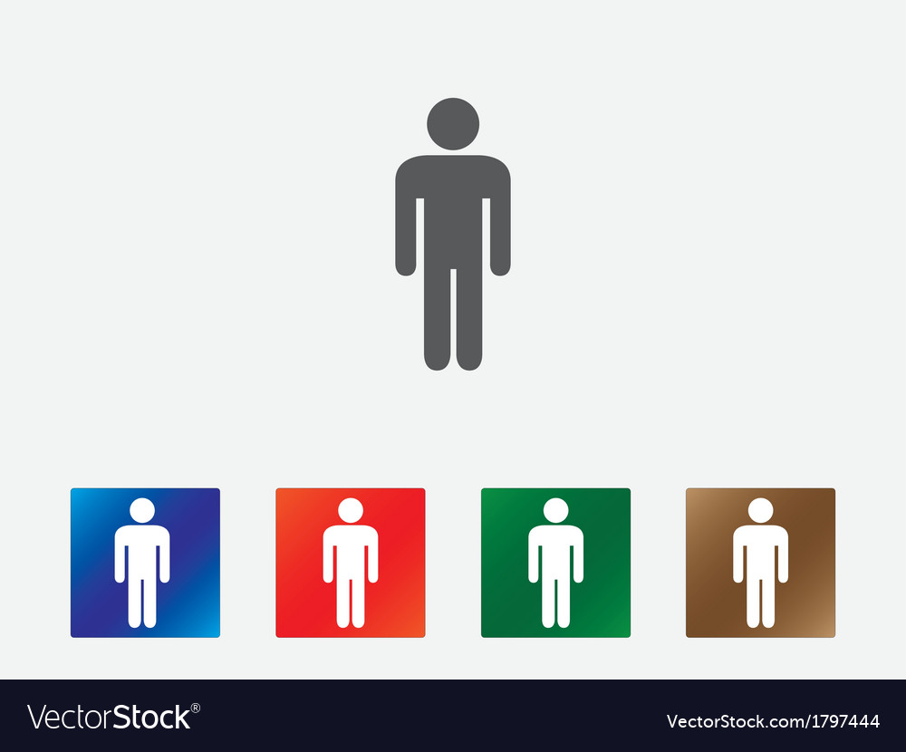 People pictogram icons vector | Price: 1 Credit (USD $1)