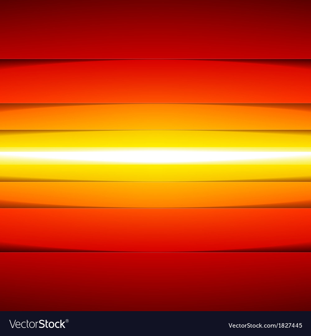 Abstract yellow orange and red rectangle shapes vector | Price: 1 Credit (USD $1)