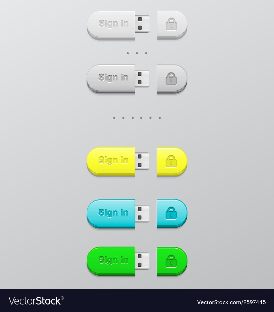Button memory card vector | Price: 1 Credit (USD $1)