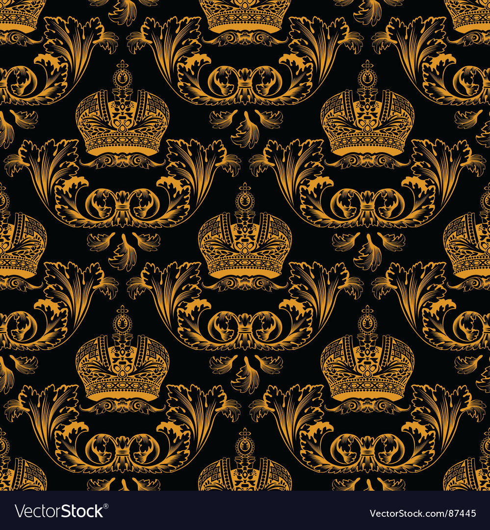 Regal crest pattern vector | Price: 1 Credit (USD $1)