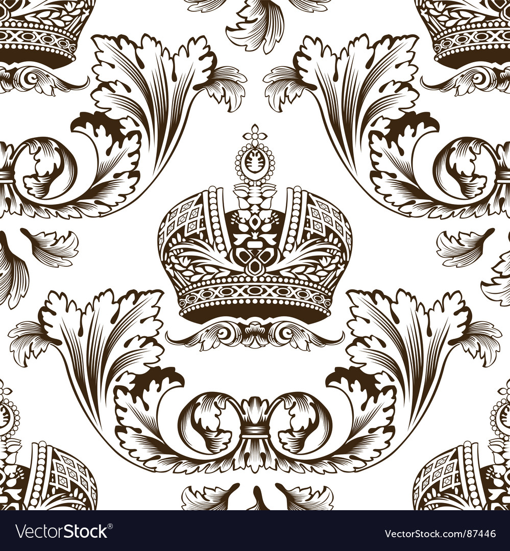 Decorative imperial design vector | Price: 1 Credit (USD $1)