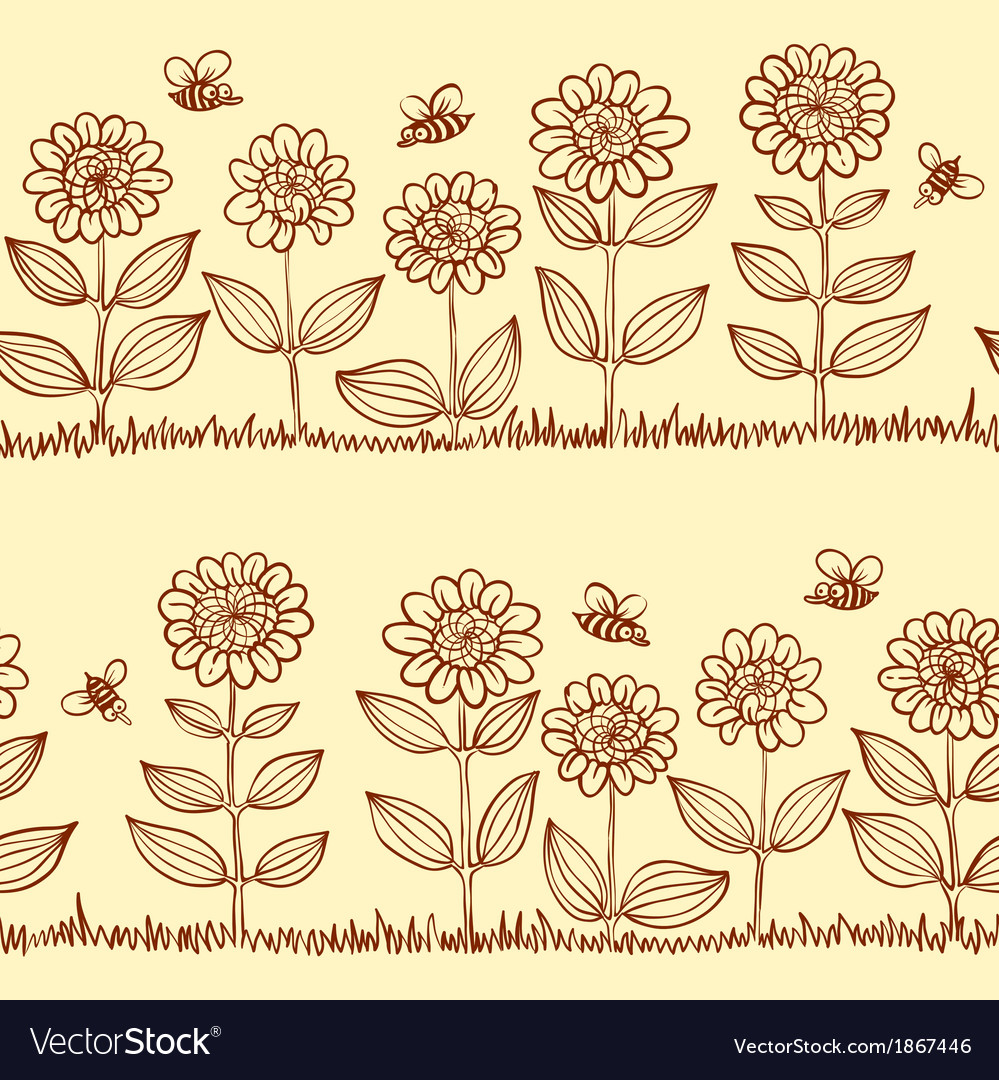 Doodle seamless pattern vector | Price: 1 Credit (USD $1)