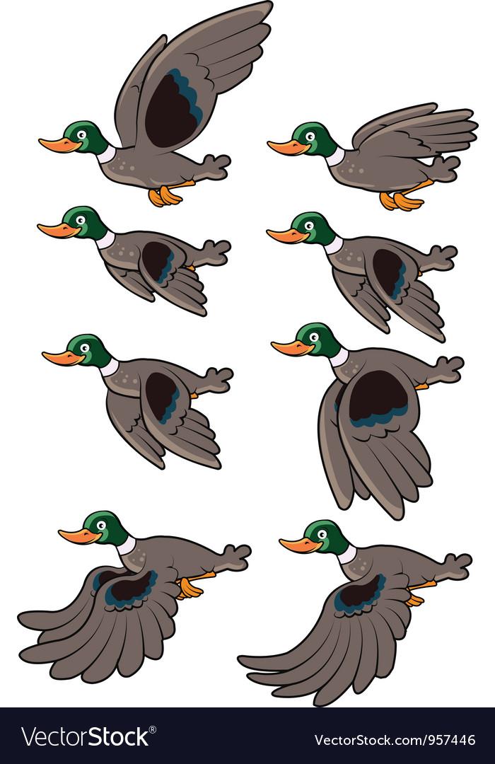 Flying bird animation vector   Price: 3 Credit (USD $3)