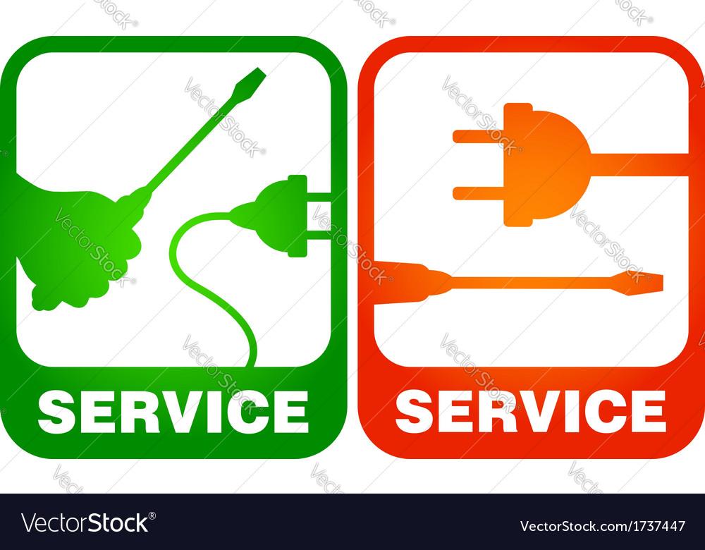 Electrical repairs vector | Price: 1 Credit (USD $1)