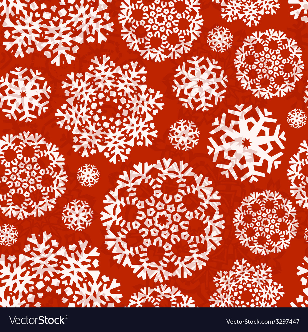 Snowflake xmas patter vector   Price: 1 Credit (USD $1)