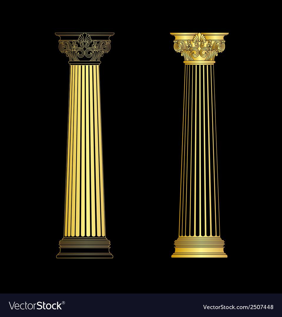 Column vector | Price: 1 Credit (USD $1)