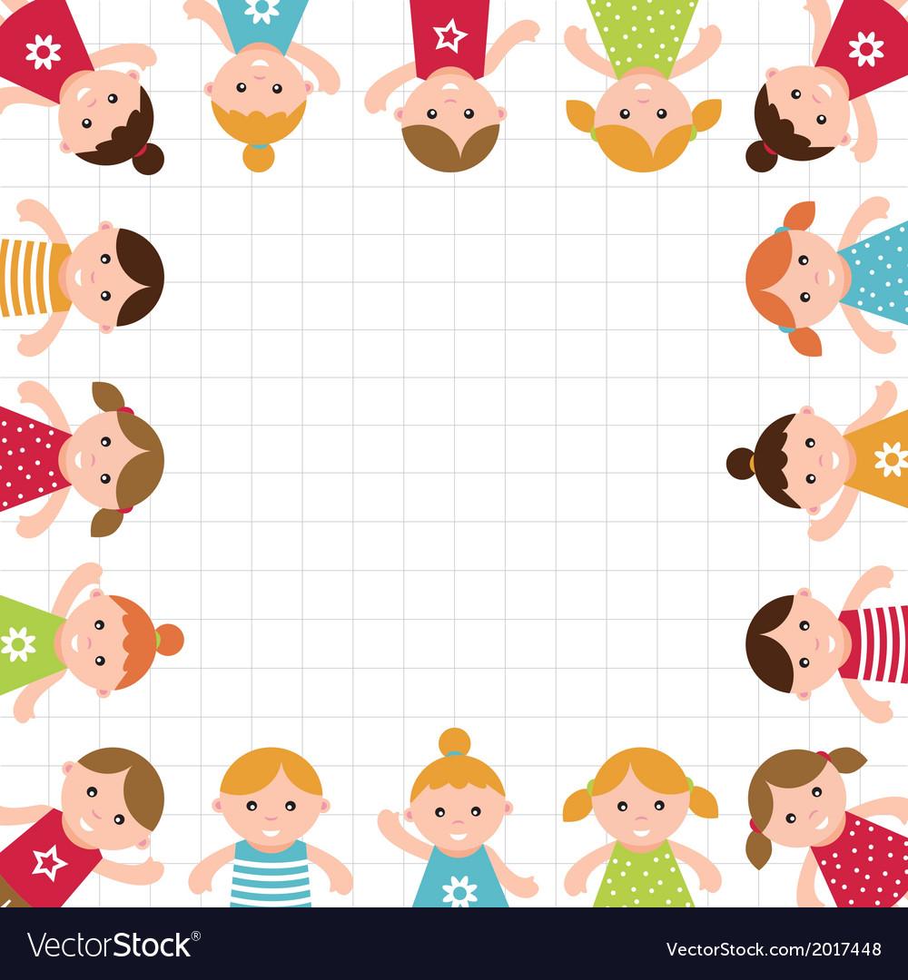 Kids frame vector   Price: 1 Credit (USD $1)