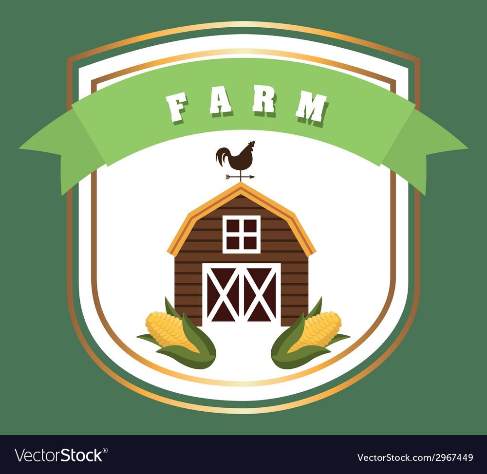 Farm design vector | Price: 1 Credit (USD $1)
