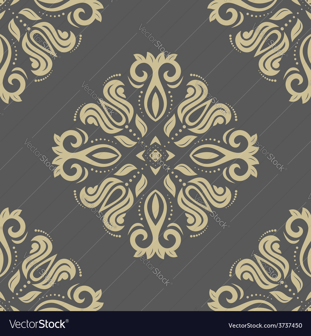 Pattern in the style of baroque abstract vector | Price: 1 Credit (USD $1)