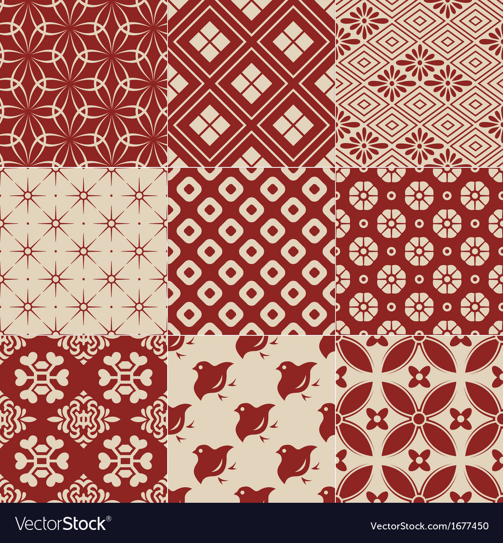 Vintage japanese traditional pattern vector | Price: 1 Credit (USD $1)