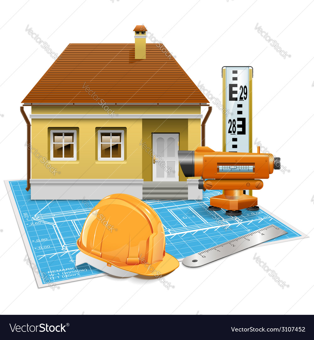 Real estate project vector | Price: 3 Credit (USD $3)