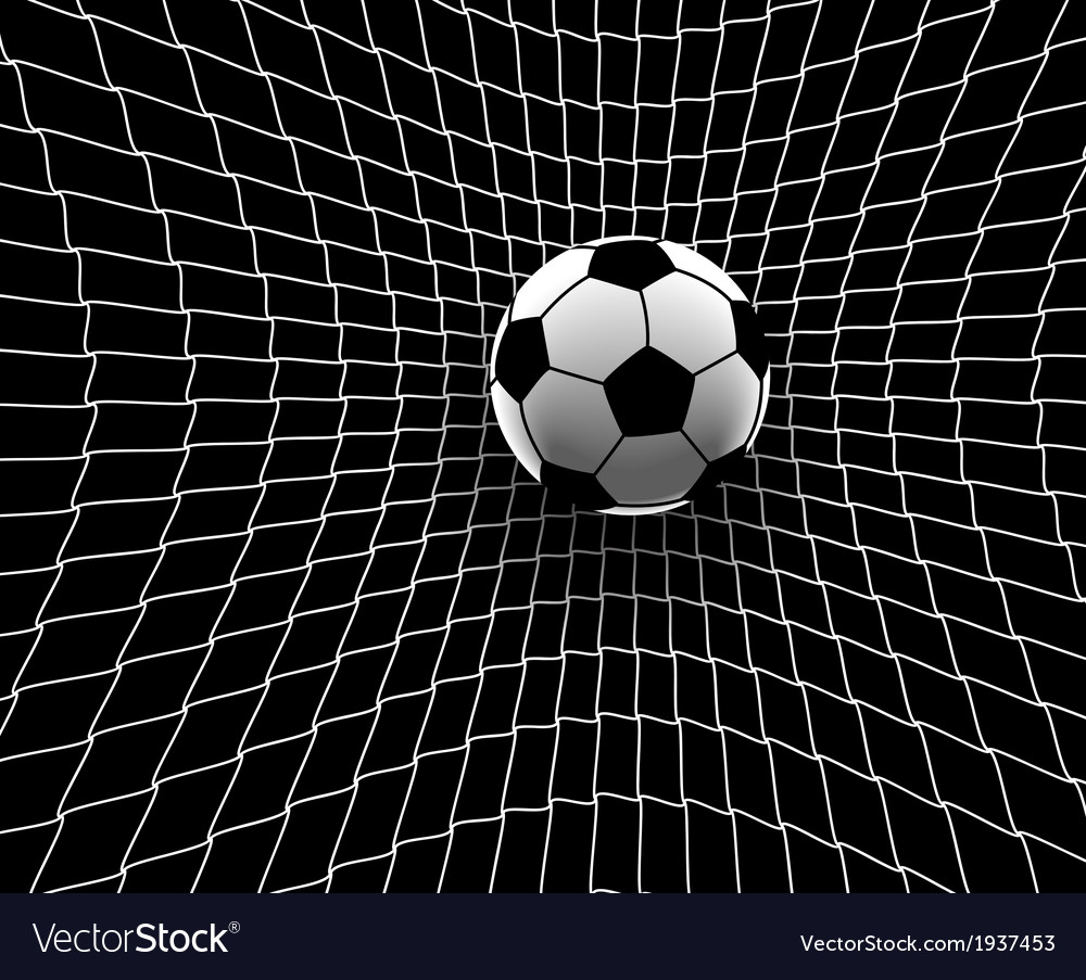 Football goal vector | Price: 1 Credit (USD $1)