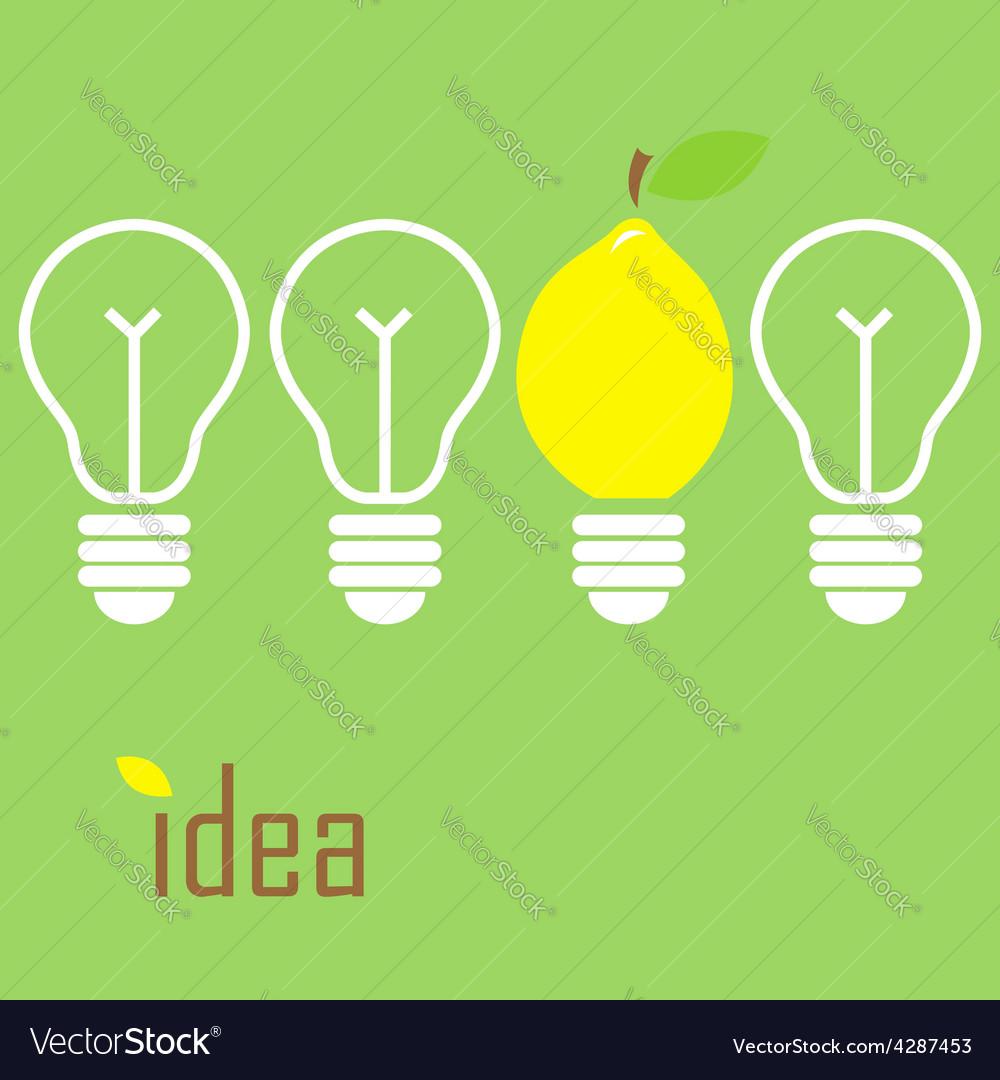 Idea lamp vector | Price: 1 Credit (USD $1)