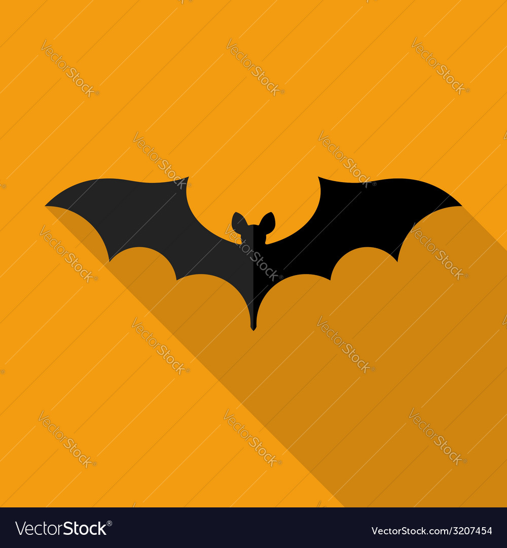 Happy halloween flat design vector | Price: 1 Credit (USD $1)