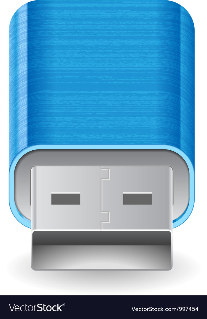 Icon for flash drive vector | Price: 3 Credit (USD $3)