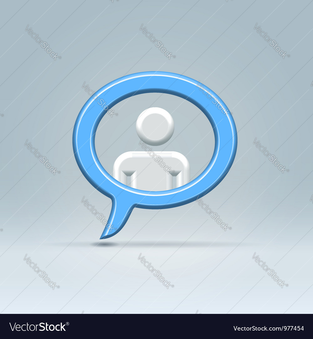 Person in balloon vector | Price: 1 Credit (USD $1)