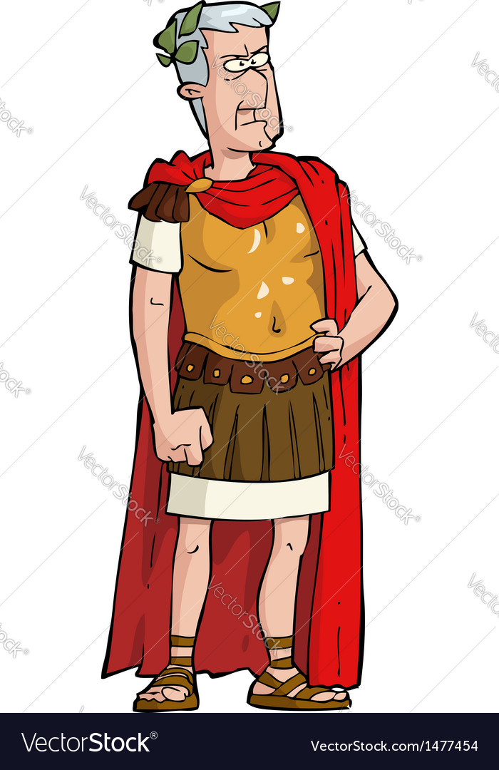 Roman emperor vector | Price: 1 Credit (USD $1)