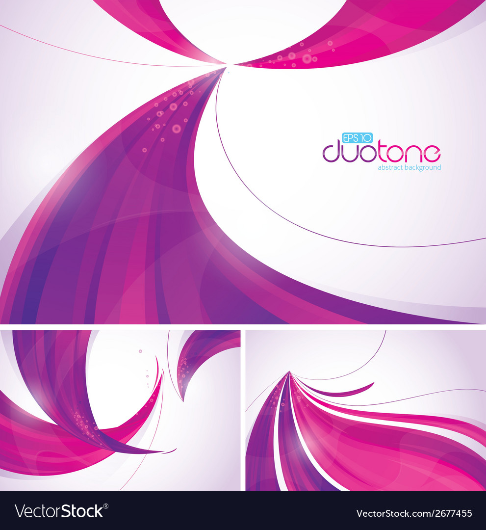 Duotone abstract background vector | Price: 1 Credit (USD $1)