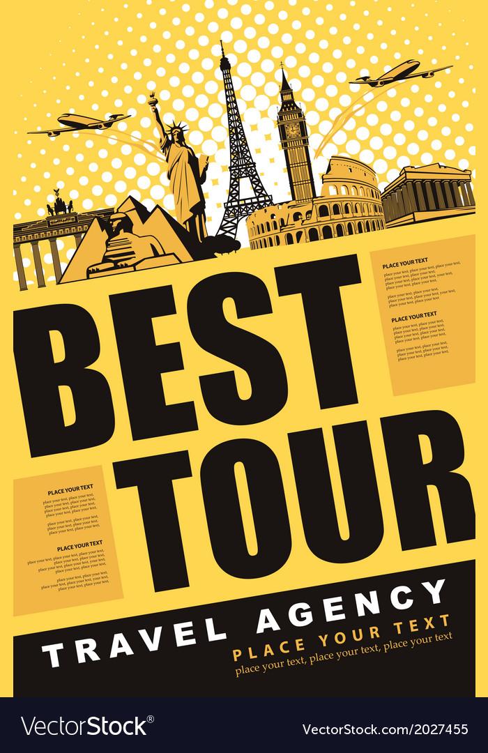 Travel agency vector   Price: 1 Credit (USD $1)