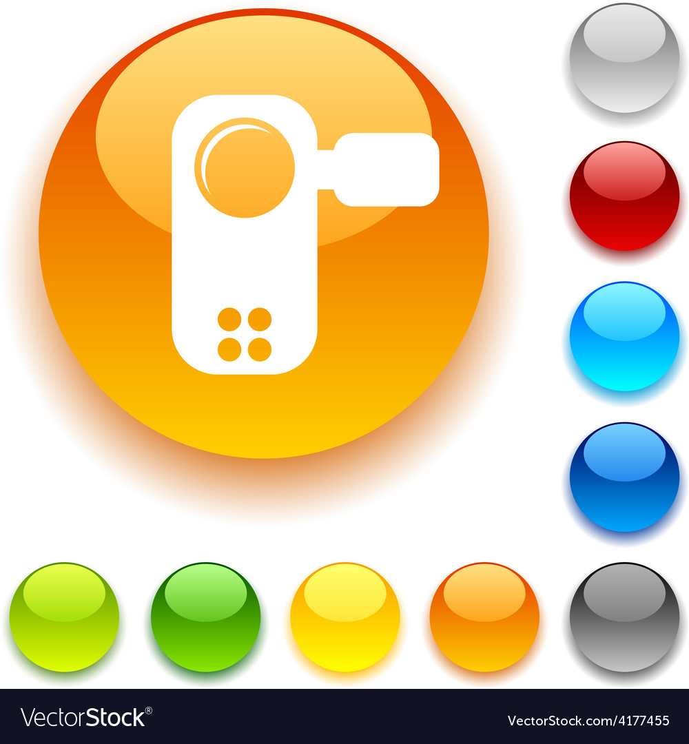 Video button vector | Price: 1 Credit (USD $1)
