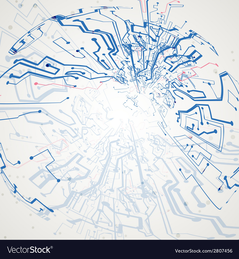 Futuristic technology vector | Price: 1 Credit (USD $1)