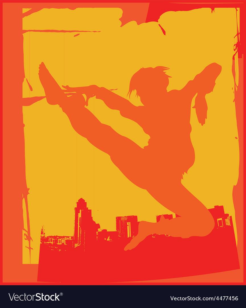 Karate pose vector   Price: 1 Credit (USD $1)