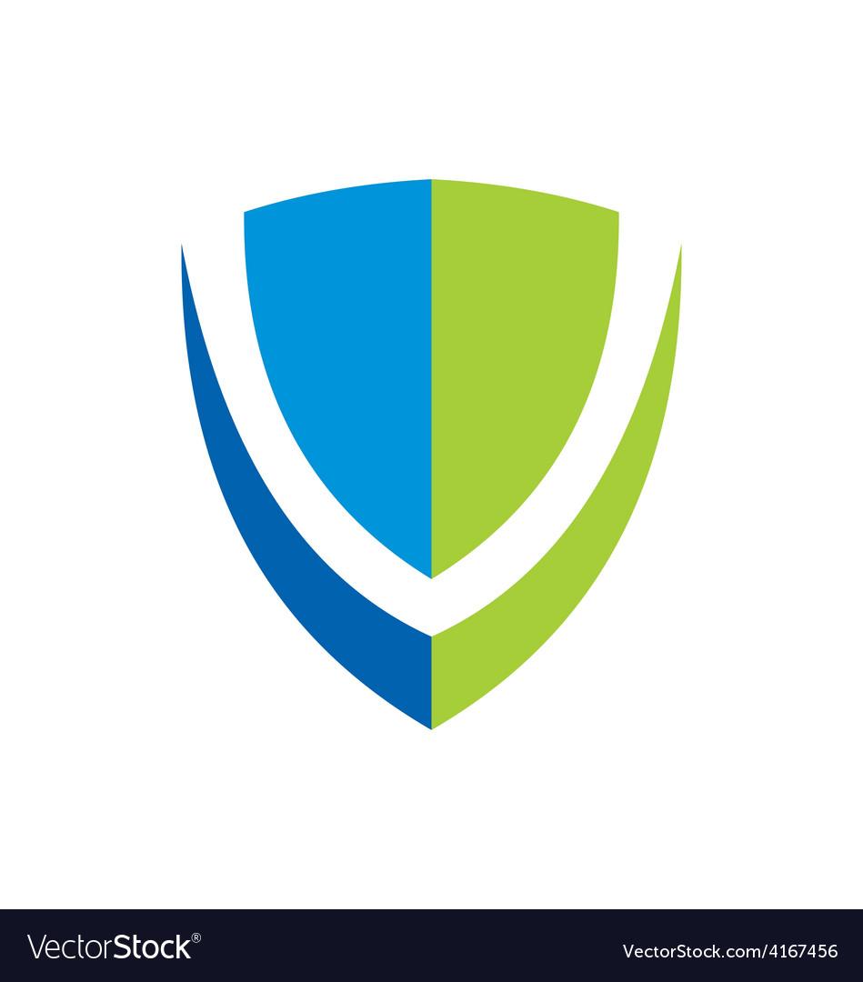 Shield protection logo vector | Price: 1 Credit (USD $1)