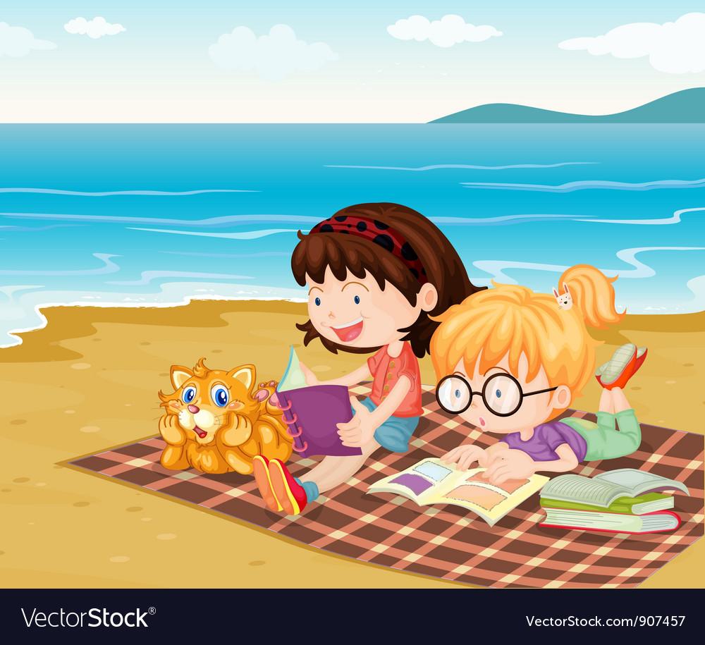 Beach vector | Price: 3 Credit (USD $3)