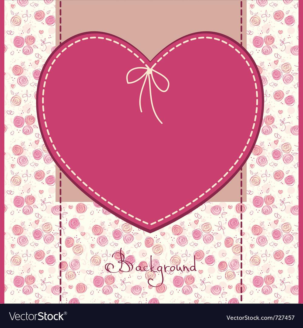 Wedding or birthday card vector | Price: 1 Credit (USD $1)
