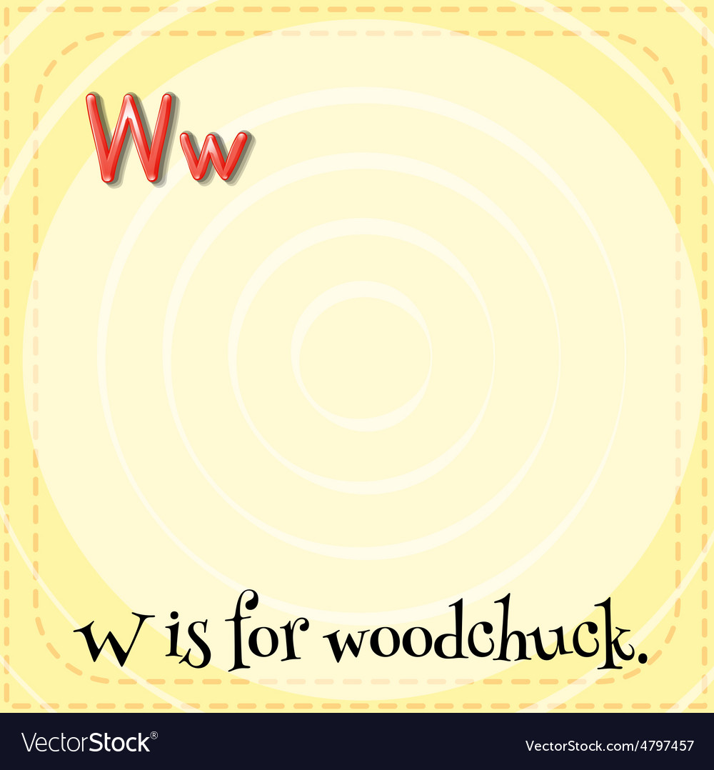 Woodchuck vector | Price: 1 Credit (USD $1)