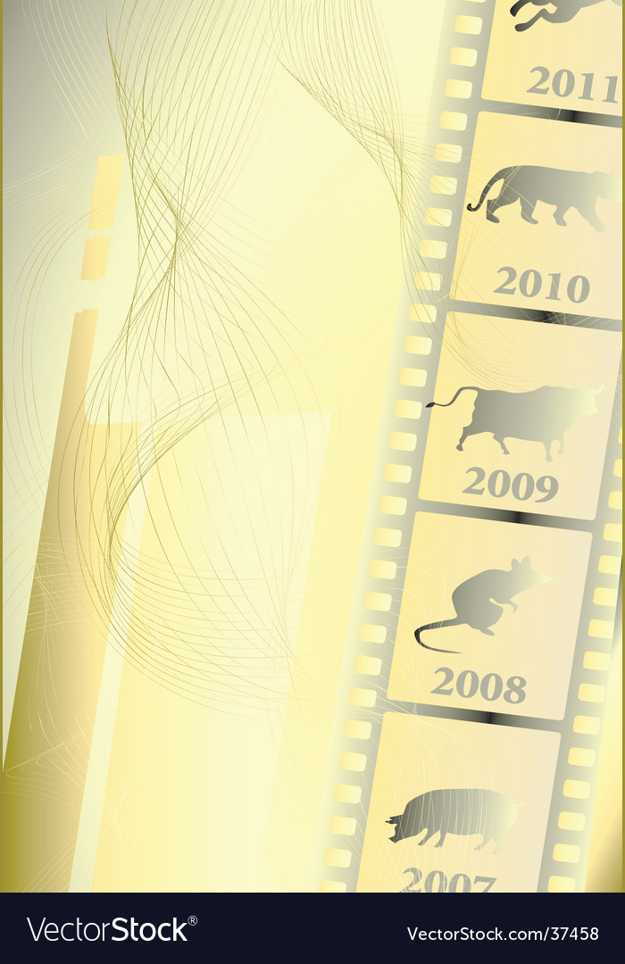 Film astrology vector | Price: 1 Credit (USD $1)