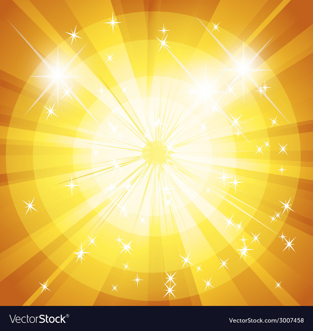 Star burst and sunbeam background vector | Price: 1 Credit (USD $1)