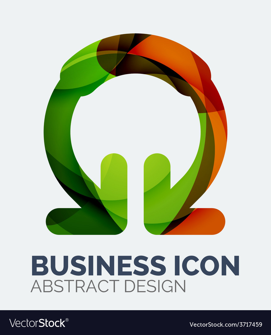 Abstract business logo vector | Price: 1 Credit (USD $1)