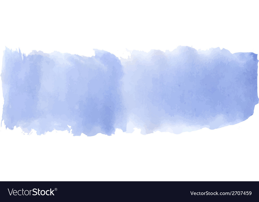 Blue watercolor banner vector | Price: 1 Credit (USD $1)