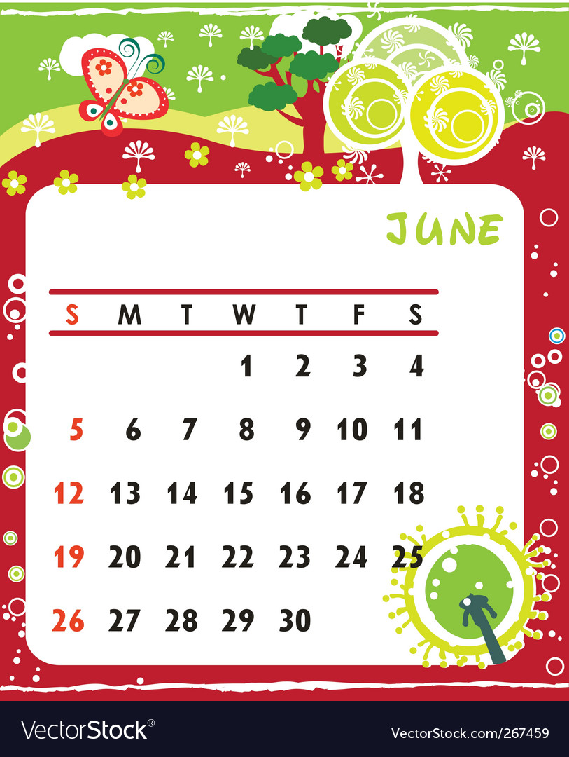 Calendar october vector | Price: 1 Credit (USD $1)
