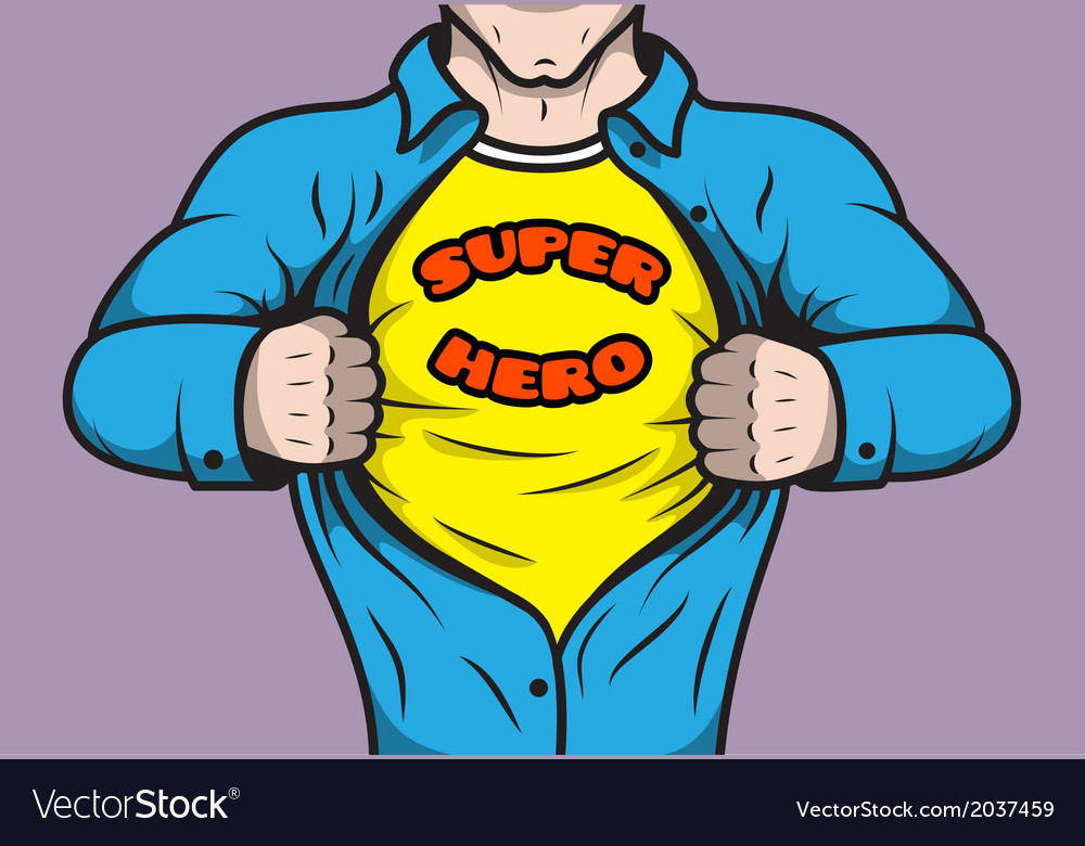 Masked comic book superhero vector | Price: 1 Credit (USD $1)
